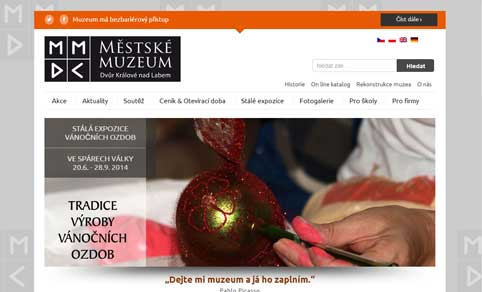 Muzeum DK screen