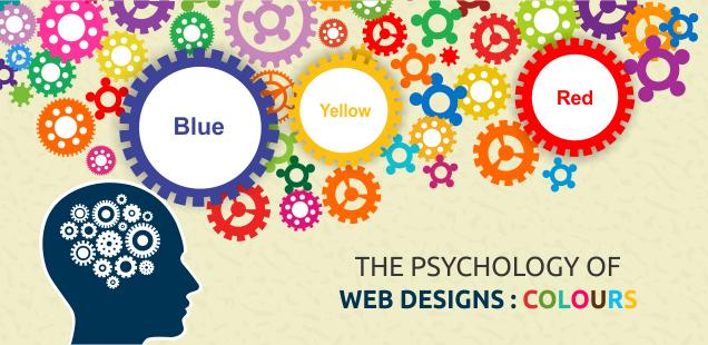 Žlutá, modrá, červená, každá na webu něco znamená