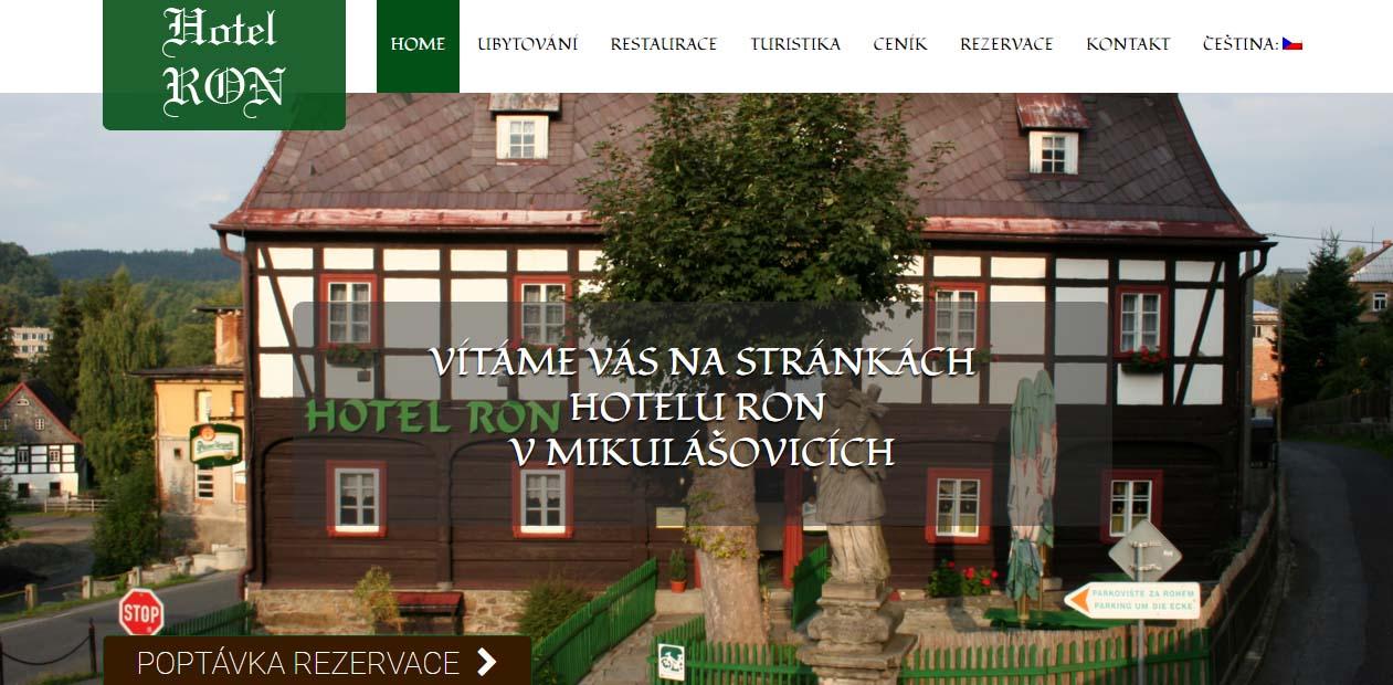 Jak vidí webové stránky ubytovatelů turista?