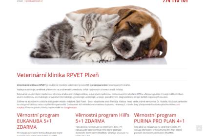 Veterinární klinika RPVet v Plzni