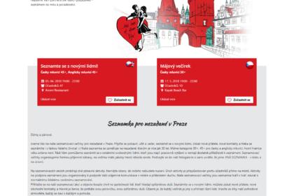 Singles in Prague