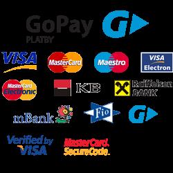 Srovnání online platebních metod / platebních bran