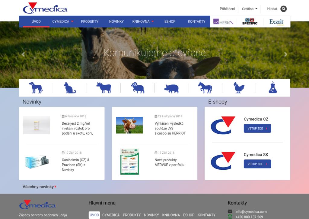 ukázka online datovací zprávy
